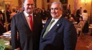 """""""أتطلع إلى رؤيتك مرة أخرى قريبا"""".. وزير خارجية الاحتلال يهنئ نظيره البحريني بحلول عيد الأضحى"""