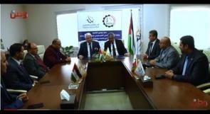 توقيع اتفاقية جائزة البنك الاسلامي الفلسطيني للبحث العلمي للعام 2019