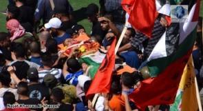 جماهير غفيرة تشيع جثمان الشهيد الطفل نسيم أبو رومي في العيزرية