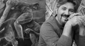 الفنان الفلسطيني اياد صباح.. عندما يصنع من الحرب فناً ومن الصخور تمثالاً