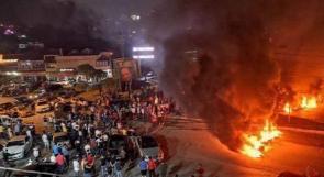 إصابات مع تصاعد الاحتجاجات في لبنان