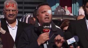نقيب الصحفيين ناصر ابو بكر: متمسكون بمحاكمة قادة الاحتلال في المحاكم الدولية لما ارتكبوه من جرائم بحق الصحفيين الفلسطينيين