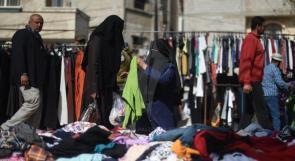 """أسواق """"البالة"""" مقصد الفقراء والأغنياء في غزة!"""