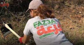"""""""فزعة"""" مستمرة في دعم صمود المزارعين بوجه كل عمليات الاقتلاع الاحتلالية.."""