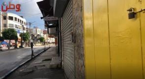 كاميرا وطن ترصد واقع الاغلاق في جنين في ظل ارتفاع أعداد الاصابات بكورونا