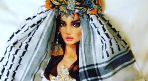 صور| رانيا الريماوي تصمم قمصان عصرية بالكوفية الفلسطينية والشماغ الأردني