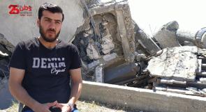 """الناشط المنسي يروي لوطن لحظة وصول شقيقيه """"شهيدين"""" أثناء تطوعه في تغطية العدوان على غزة"""