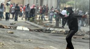 إصابات بالاختناق وإغلاق مدخل الرام بالقدس المحتلة