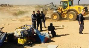 """الاحتلال يهدم قرية """"العراقيب"""" للمرة الـ 190 على التوالي"""