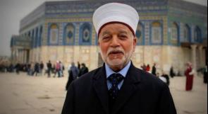 مفتي القدس: استهداف الاحتلال للمقابر هدفه تغيير الطابع الجغرافي والديمغرافي في المدينة