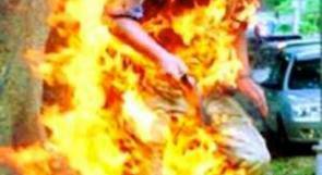 اردني ينتحر حرقا بعد فصله من العمل