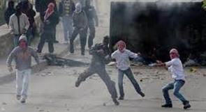 """فلسطينيون يحرقون مكتب البريد بالعيسوية رداً على زيارة """"بركات"""""""