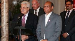 الرئيس يبحث مع نظيره التونسي تفعيل اللجنة الثنائية