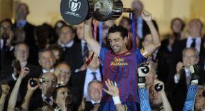 برشلونة يسحق بلباو بثلاثية ويظفر بكأس ملك اسبانيا