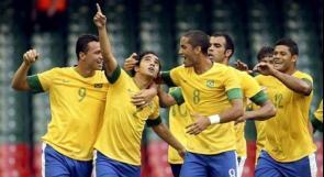 البرازيل تجتاز مصر في مباراة مثيرة