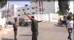 بالفيديو...الأمن الوطني يتدخل لتفريق المواجهات بين الاحتلال والشبان في طولكرم