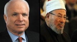 ماكين والقرضاوي يتنافسان على مستقبل سوريا