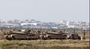 الاحتلال يحشد المزيد من القوات على حدود غزة