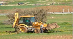 الاحتلال يخطر بتدمير أراض زراعية في الأغوار الشمالية