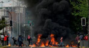 """تشيلي: تمديد حالة الطوارئ مع استمرار الاحتجاجات والرئيس يعتبر بلاده في """"حرب"""""""