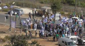 مسيرة للمستوطنين في أم الفحم تدعو لتدمير المساجد