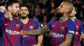 برشلونة يسحق مايوركا برباعية نظيفة