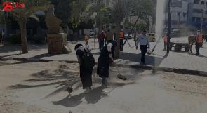 """مبادرة """"حنعمرها"""" لوطن: نسعى لإيصال رسالة للعالم بأنه مهما دمر الاحتلال في غزة فإن سواعد شبابها سـتعمرها"""