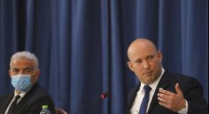 لبيد: 90% من علاقتنا بالسلطة الفلسطينية حول التنسيق الأمني