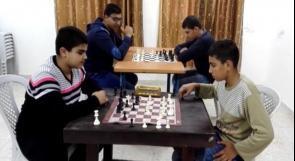 """خاص لـ""""وطن"""": بالفيديو.. قلقيلية: عزون تحتضن المدرسة الوحيدة للشطرنج"""