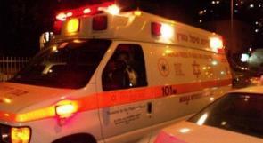 اصابة خطيرة لعامل من أم الفحم سقط عن علو