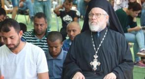 الأب عبد الله يوليو بعد مشاركته صلاة الجمعة لوطن : على مسيحيي العالم التحرك لنصرة الفلسطينيين
