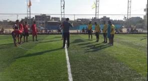"""خاص لـ """"وطن"""": بالفيديو..غزة: الملاعب العشبية ملاذ للغزيين للعب والتسلية"""