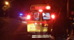 اصابة خطيرة لرجل اثر سقوطه عن علو في رهط