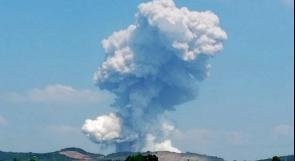انفجار ضخم يهز مصنعا للألعاب النارية في تركيا