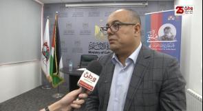 وزير الثقافة لوطن: نريد أن يكون لفلسطين دور أساسي في تعزيز الكتابة الروائية