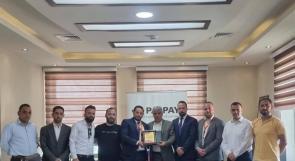 توقيع اتفاقية تسديد رسوم جامعة بوليتكنك فلسطين من خلال قنوات شركة PalPay الالكترونية