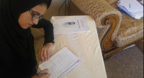 """خاص لـ""""وطن""""بالفيديو .. جنين : فرح ابنة الخامسة عشرة .. تنجز مؤلفات أدبية ولا تتحدث إلا الفصحى"""