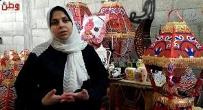 غدير تحارب البطالة بفوانيس رمضان