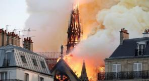 """فرنسا: الكشف عن سبب حريق """"نوتردام"""""""