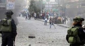 مواجهات مع الاحتلال على مدخل مخيم العروب شمال الخليل