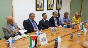 أبوكشك يستقبل وفدا من رجال الأعمال الفلسطينيين في الولايات المتحدة لبحث التعاون