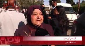 """أم ناصر أبو حميد لوطن: """"انا عينك الثانية التي ترى بها يا معاذ"""" ...شؤون الأسرى والمحررين: لن يكتموا صوتنا ولن يمنعوا وصول الحقيقة للعالم"""