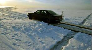 """""""طريق الجليد"""" يكسر كل قواعد المرور في العالم"""