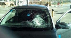 الاعلام العبري يزعم: زجاجة حارقة أصابت سيارة مستوطن في عزون