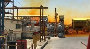 تسرب مواد كيميائية من مصانع الاحتلال في منطقة البحر الميت