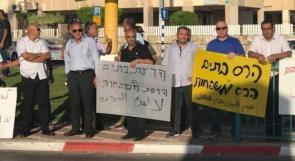 احتجاجات في اللد ضد هدم الاحتلال لمنازل الفلسطينيين