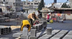 الإحصاء: ارتفاع تكاليف البناء للمباني السكنية بالضفة بنسبة 0.16% خلال أيلول الماضي
