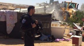 للمرة الـ 130.. الاحتلال يهدم قرية العراقيب في النقب