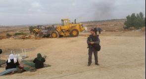 للمرة الـ132.. الاحتلال يهدم العراقيب مجدداًَ ويعتقل 3 مواطنيين