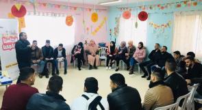 """مؤسسة الرؤيا الفلسطينية تستمر في تنفيذ تدريبات مشروع """"مجلسنا بحاجتنا"""""""